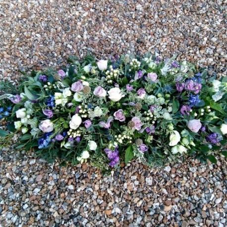 Flowery Coffin Spray