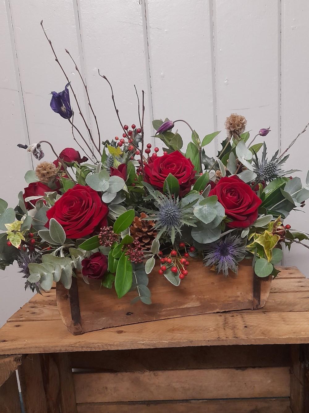Rustic Brick Mould Florals