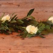Floral Coffin Garland